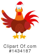 Royalty-Free (RF) Rooster Clipart Illustration #1434187