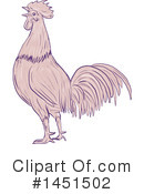 Rooster Clipart #1451502 by patrimonio