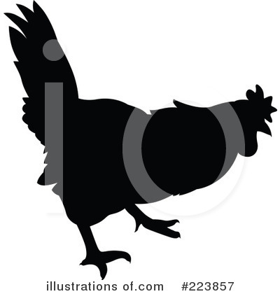 Rooster Clipart #223857 by dero