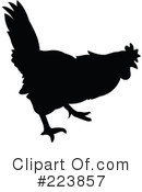 Royalty-Free (RF) Rooster Clipart Illustration #223857