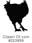 Royalty-Free (RF) Rooster Clipart Illustration #223858