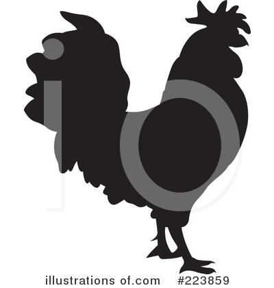 Rooster Clipart #223859 by dero
