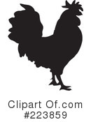 Royalty-Free (RF) Rooster Clipart Illustration #223859