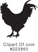 Royalty-Free (RF) Rooster Clipart Illustration #223860
