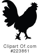 Royalty-Free (RF) Rooster Clipart Illustration #223861