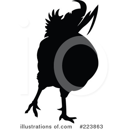 Rooster Clipart #223863 by dero