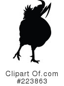 Royalty-Free (RF) Rooster Clipart Illustration #223863