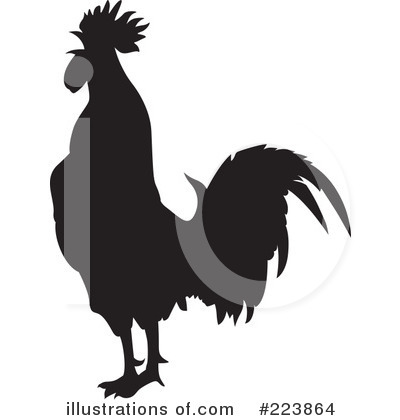 Rooster Clipart #223864 by dero