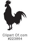 Royalty-Free (RF) Rooster Clipart Illustration #223864
