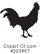 Royalty-Free (RF) Rooster Clipart Illustration #223867