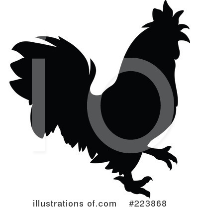 Rooster Clipart #223868 by dero