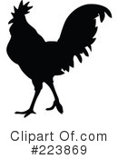 Royalty-Free (RF) Rooster Clipart Illustration #223869