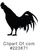 Royalty-Free (RF) Rooster Clipart Illustration #223871