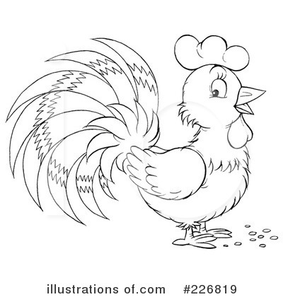 Rooster Clipart #226819 by Alex Bannykh