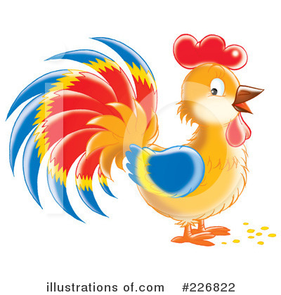 Rooster Clipart #226822 by Alex Bannykh