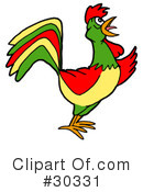 Rooster Clipart #30331