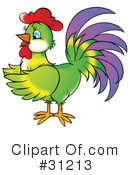 Rooster Clipart #31213