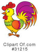 Rooster Clipart #31215