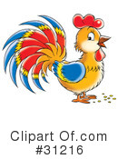 Rooster Clipart #31216
