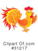 Rooster Clipart #31217