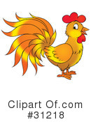 Rooster Clipart #31218