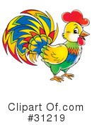 Rooster Clipart #31219