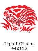 Rooster Clipart #42196