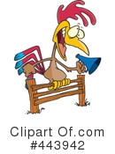 Royalty-Free (RF) Rooster Clipart Illustration #443942