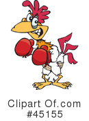 Royalty-Free (RF) Rooster Clipart Illustration #45155