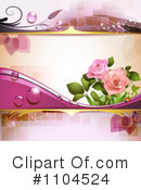 Rose Background Clipart #1104524 by merlinul