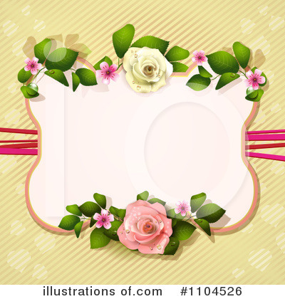 Rose Background Clipart #1104526 by merlinul