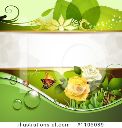 Rose Background Clipart #1105089 by merlinul