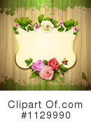 Rose Background Clipart #1129990 by merlinul