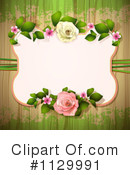 Royalty-Free (RF) Rose Background Clipart Illustration #1129991