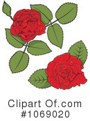 Rose Clipart #1069020 by Any Vector