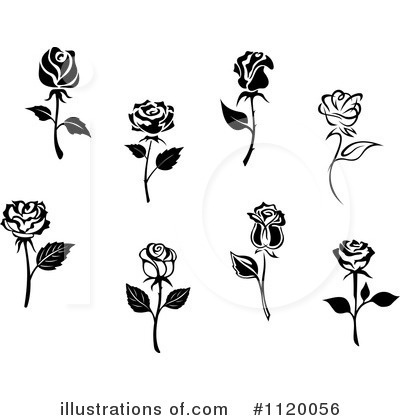 Rose Clipart #1120056 by Vector Tradition SM