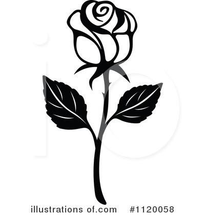 Rose Clipart #1120058 by Vector Tradition SM