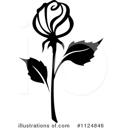 Rose Clipart #1124846 by Vector Tradition SM