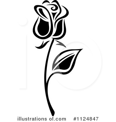 Rose Clipart #1124847 by Vector Tradition SM