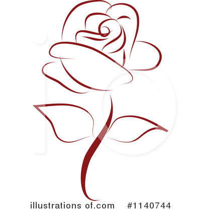 Rose Clipart #1140744 by Vitmary Rodriguez
