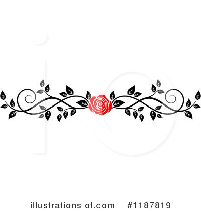 Rose Clipart #1187819 by Vector Tradition SM