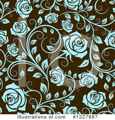 Rose Clipart #1227667 by Vector Tradition SM