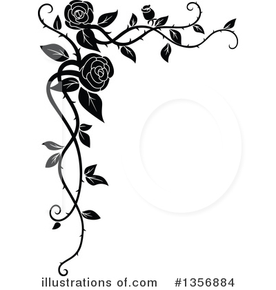 Rose Clipart #1356884 by Vector Tradition SM
