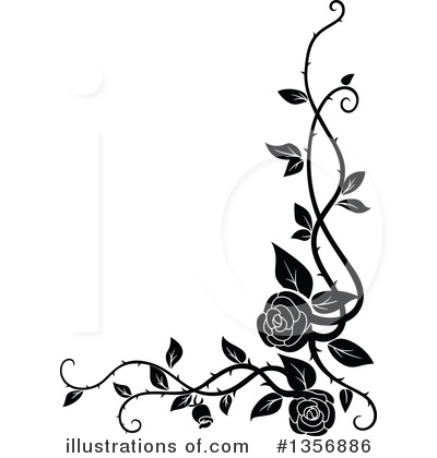 Rose Clipart #1356886 by Vector Tradition SM