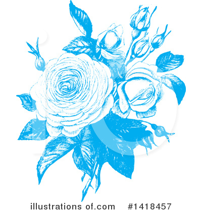 Roses Clipart #1418457 by BestVector