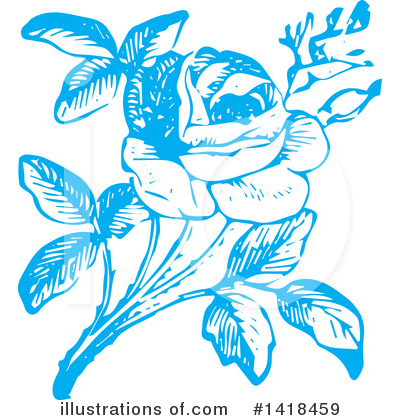 Roses Clipart #1418459 by BestVector