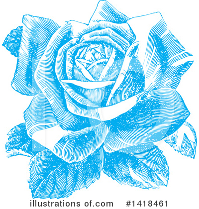 Roses Clipart #1418461 by BestVector