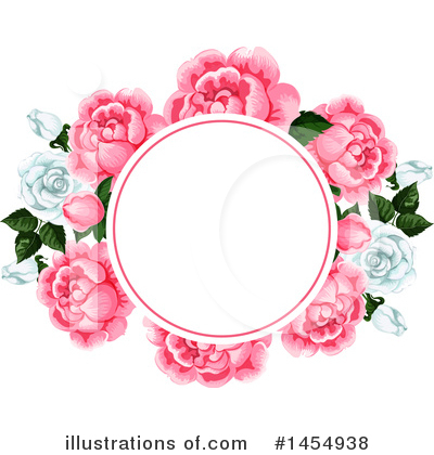 Royalty-Free (RF) Rose Clipart Illustration by Vector Tradition SM - Stock Sample #1454938