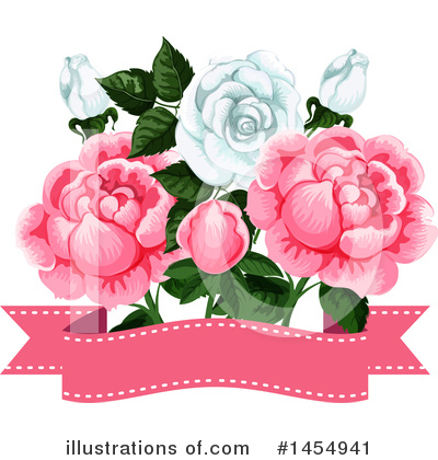 Rose Clipart #1454941 by Vector Tradition SM