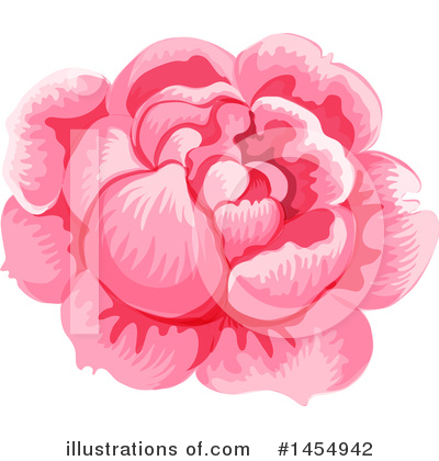 Rose Clipart #1454942 by Vector Tradition SM